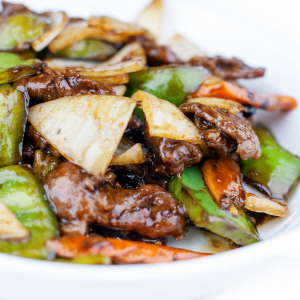 Beef with Spicy Green Pepper