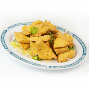 Salt and Pepper Tofu - Dau Hu Chien Muoi Teiu