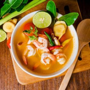 Seafood Noodle Soup