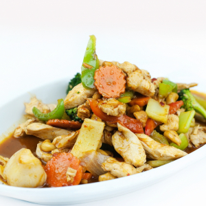 38. Chicken with Assorted Vegetables