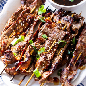 68. Beef with Satay Sauce