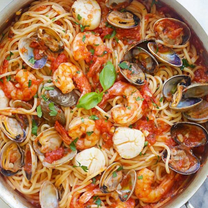 Braised Dry Seafood Hot Pot
