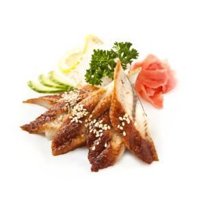 B33. BBQ Eel Sashimi (3 pcs)