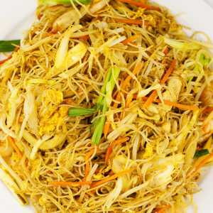 127. Singapore Style Fried Vermicelli