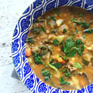 Mulligatawny Vegetable Lentil Soup