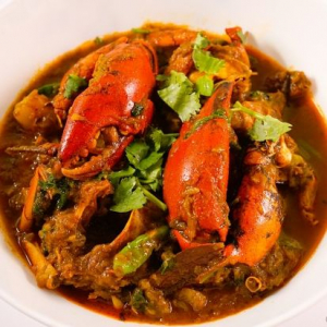 59. Curry Vancouver Crab with Vermicelli