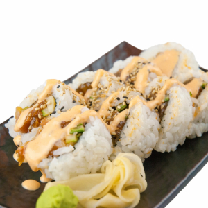 Spicy Salmon and Tuna Roll