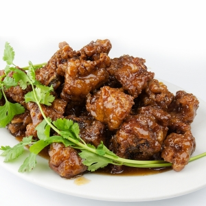 91. Honey Garlic Spareribs