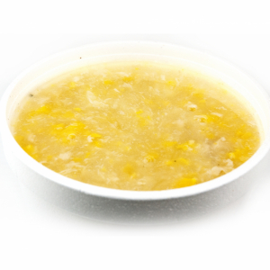 21. Sweet Corn Soup with Minced Chicken