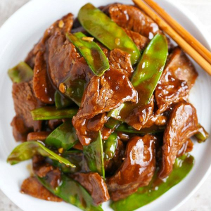 52. Beef with Snow Pea