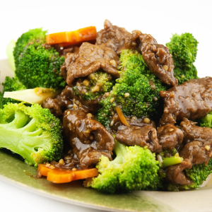 Sliced Beef with Broccoli