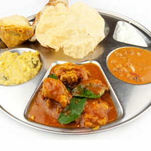 Butter Chicken Thali