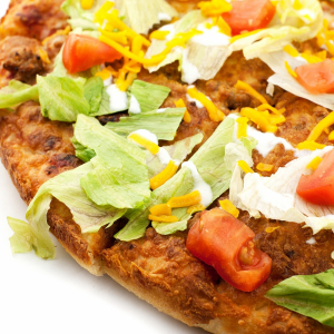 Veggie Taco Pizza