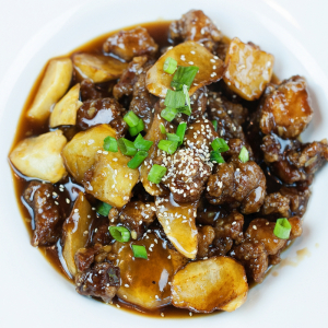 A11. Hunan Smoked Pork with Dried Turnip