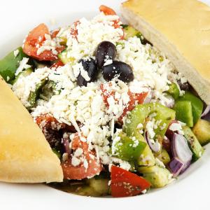 Italian Salad & Garlic Bread