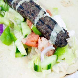 Sheek Kebab Wrap