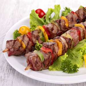 E6. Filet Mignon Skewers