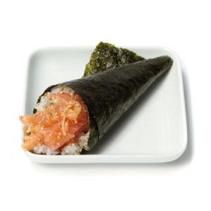 H4. Spicy Salmon Hand Roll (1 pc)