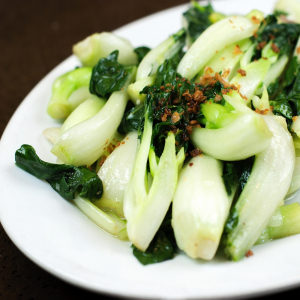 Pak Choi with Garlic Sauce 蒜茸白菜