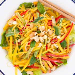 1. Thai Mango Salad with Cashew Nuts