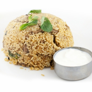 Chicken or Lamb Biryani