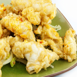 Deep Fried Squid with Spicy Salt & Pepper