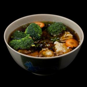 Loaded Wonton Soup