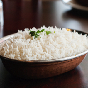 C1. Plain Steam Rice
