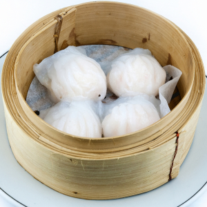 512. Steamed Shrimp Dumpling 水晶虾饺 (4 pcs)
