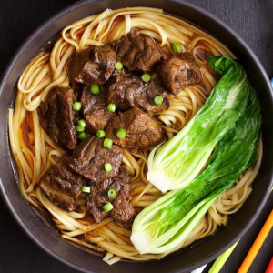 Braised Beef Soup with Noodles