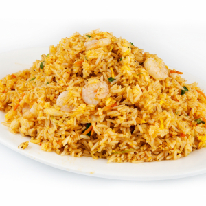 121. Special Spicy Fried Rice w/Chicken or Beef or Shrimp