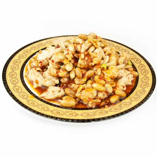 92. Diced Chicken With Red Pepper & Peanuts (Kung Pao Chicken)