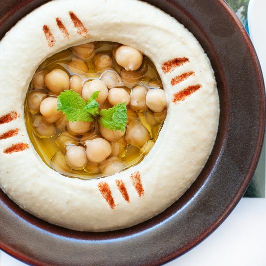 #37 Hummus & Pita