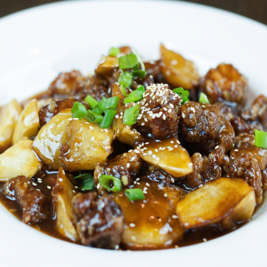 53a. Sauteed Boneless Pork