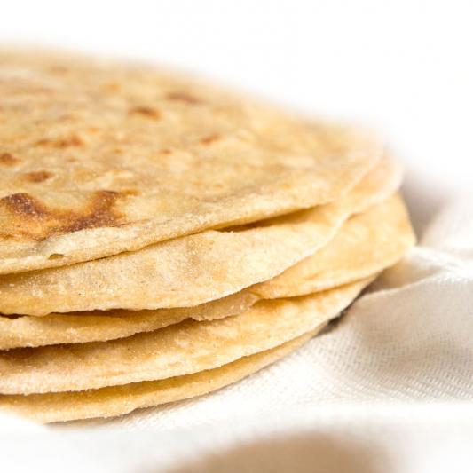52. Tandoori Roti