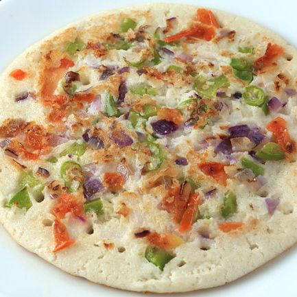 Chilly Onion Uttapam