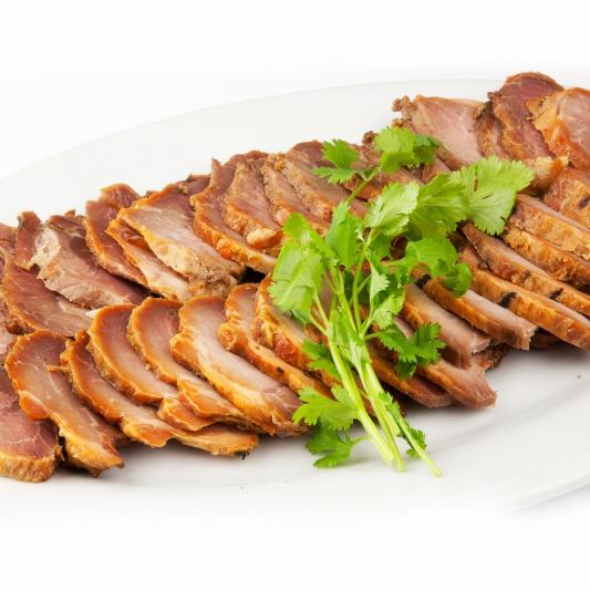 Sliced Barbecued Pork