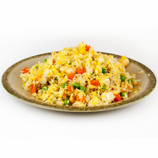 Basil Fried Rice with Shrimp