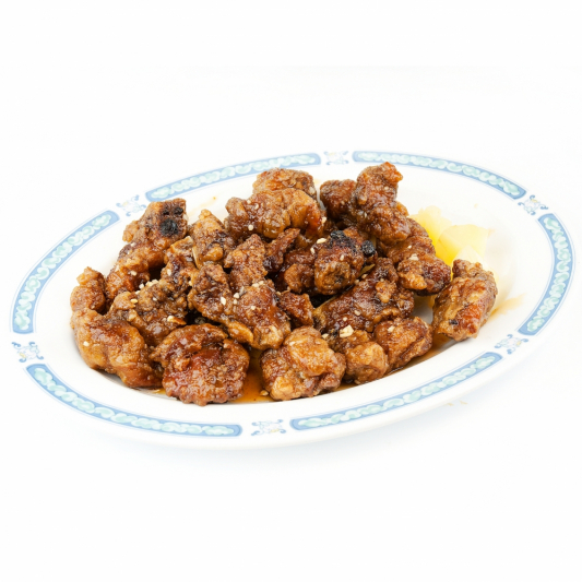 98. Spareribs with Bitter Melon in Black Bean Sauce