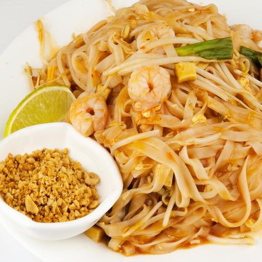Pad Thai Hor Kai Noodles (Egg Wrap)