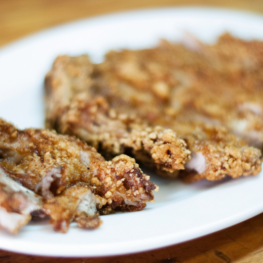 63. Deep Fried Pork Chop with Spicy Salt
