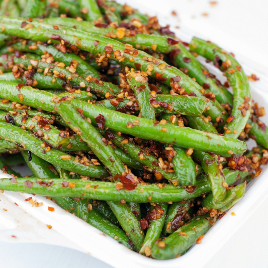 Spicy Green Beans with Minced Pork