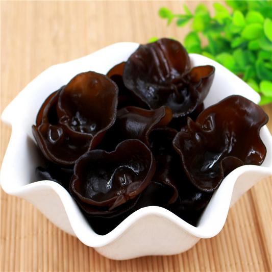 16. Black Mushroom in Vinegar