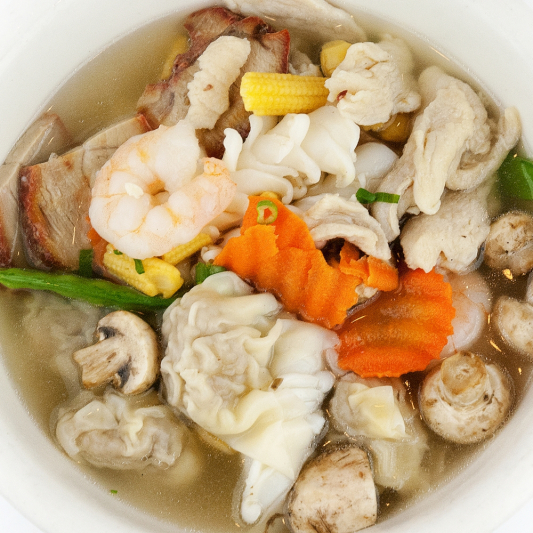 Seafood Won Ton Soup