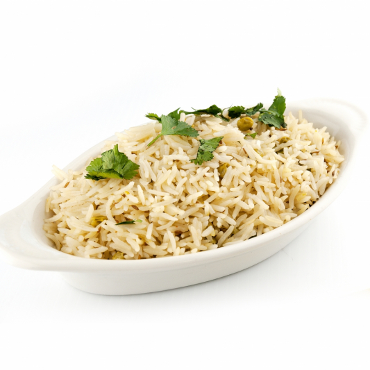 F2. Cooked Plain Rice in a Bowl