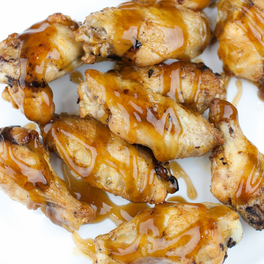 11a. Honey Garlic Wings