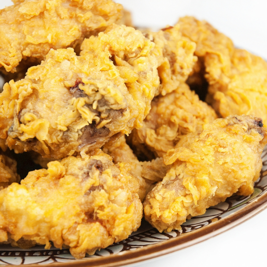 106. Deep-Fried Crispy Chicken