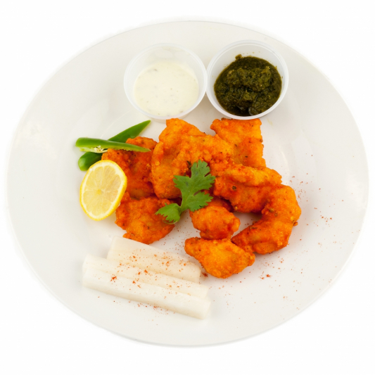 Fish Pakora (6 pcs)