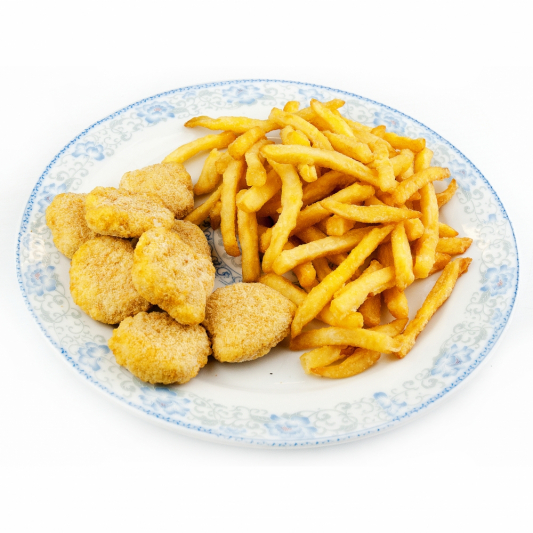 155. Chicken Nuggets with Fries