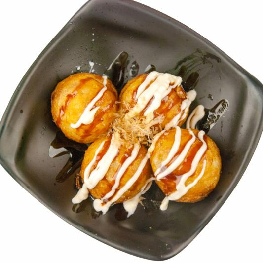Takoyaki (4 pcs)